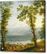 View Of Piedimonte Acrylic Print