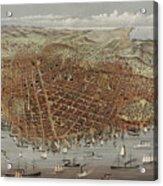 View Of San Francisco Acrylic Print