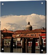 View Of San Pietro In Venice Acrylic Print