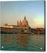 View Of Santa Maria Della Salute On Grand Canal In Venice Acrylic Print