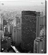 View Of Sao Paulo Acrylic Print
