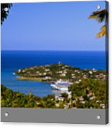 View Of St. Lucia Acrylic Print