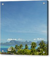 View Of Tahiti Acrylic Print