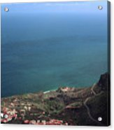 View Of Teide From La Gomera Acrylic Print