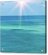 View Of The Atlantic Ocean Acrylic Print