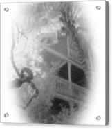 View Of The Balcony  Acrylic Print