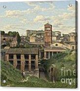 View Of The Cloaca Maxima - Rome Acrylic Print