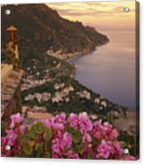 View Of The Coastline From The Hotel Acrylic Print