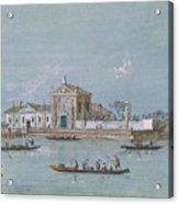 View Of The Island Of B.v. Del Rosario Acrylic Print