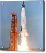 View Of The Liftoff Of Mercury-atlas 5 Acrylic Print