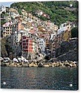 View Of The Riomaggiore, La Spezia Acrylic Print