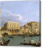 View Of The Riva Degli Schiavoni. Venice Acrylic Print