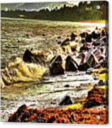 View Of The Sugarloaf Mountain From Killiney Acrylic Print