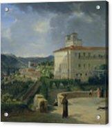 View Of The Villa Medici In Rome Acrylic Print