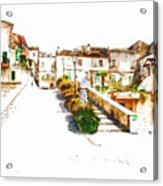 View Of The Village Acrylic Print