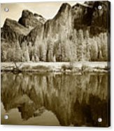 View Of Yosemite Acrylic Print