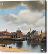 View On Delft Acrylic Print