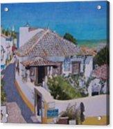 View On Obidos Acrylic Print