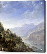 View On The Rhine Acrylic Print