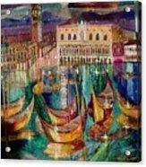 View On Venice Acrylic Print