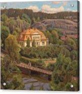 View Over Billnas Acrylic Print
