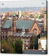 View Over Bristol With Bristol Grammar School Acrylic Print