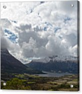 View Over Gullstein Acrylic Print