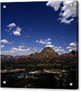 View Overlooking Sedona, Arizona Acrylic Print