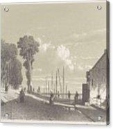 View The Veerweg Culemborg, Jan Weissenbruch, 1847 - 1865 Acrylic Print