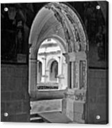 View Through An Arch Acrylic Print