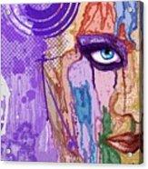 View Thru The Paint Acrylic Print