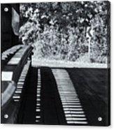 View Thru Ware Covered Bridge Acrylic Print
