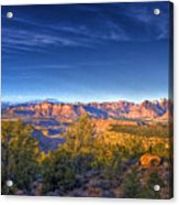 View Zion From Afar Acrylic Print