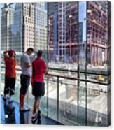 Viewing Ground Zero 2 Acrylic Print