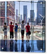 Viewing Ground Zero Acrylic Print