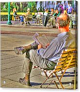 Viewing Man Acrylic Print