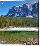 Views From Lake Louise Alberta  Acrylic Print