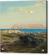 Views Of Algeciras On The Rock Of Gibraltar Acrylic Print