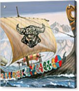 Viking Ship Acrylic Print