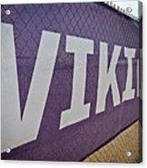 Vikings Banner Acrylic Print