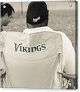 Vikings Fan Acrylic Print