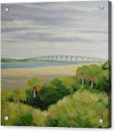 Vilano Bridge Acrylic Print