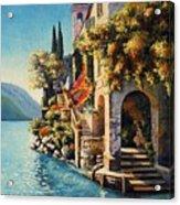 Villa Balbianello Lake Como Acrylic Print