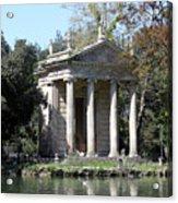 Villa Borghese Park Acrylic Print