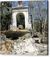 Villa Borghese River Acrylic Print