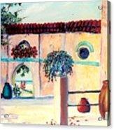 Villa De Azul Acrylic Print