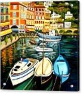 Villa Franche Acrylic Print