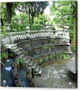 Villa Lante Garden Acrylic Print