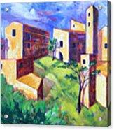 Villa Acrylic Print
