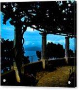 Villa San Michele At Anacapri, Italy - Painting Acrylic Print